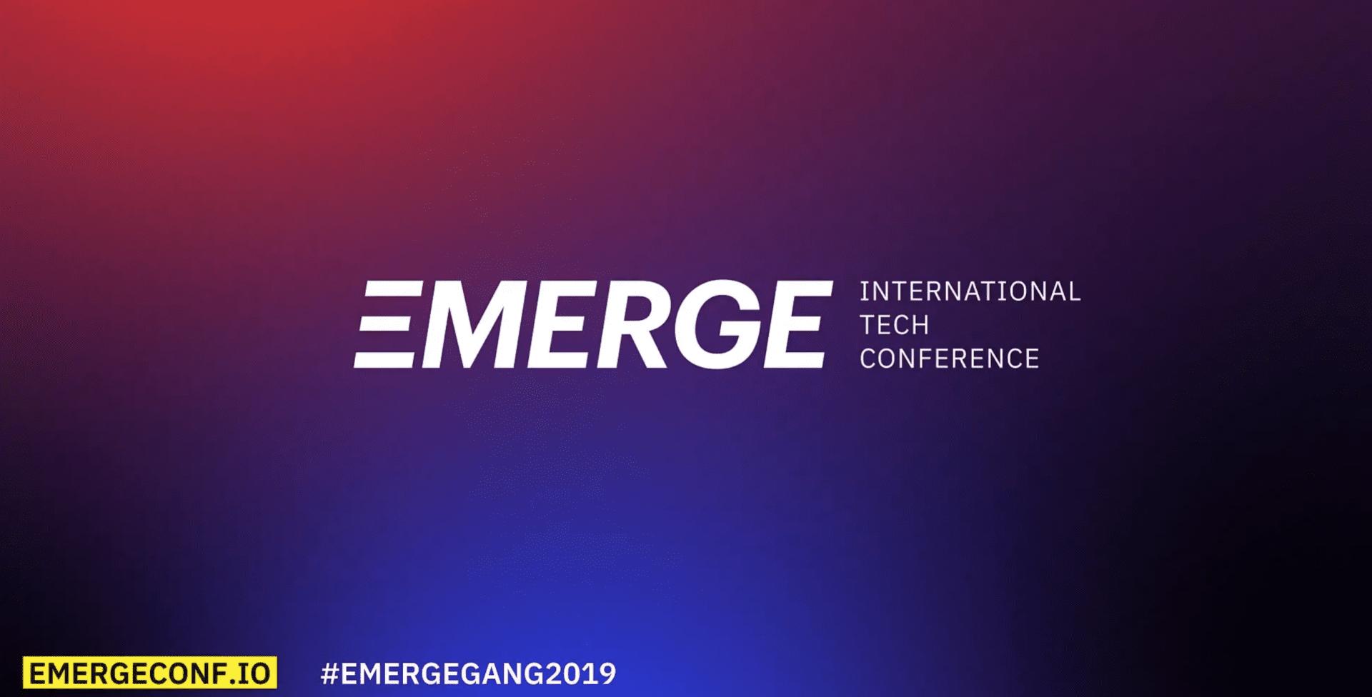 Emerge event promo
