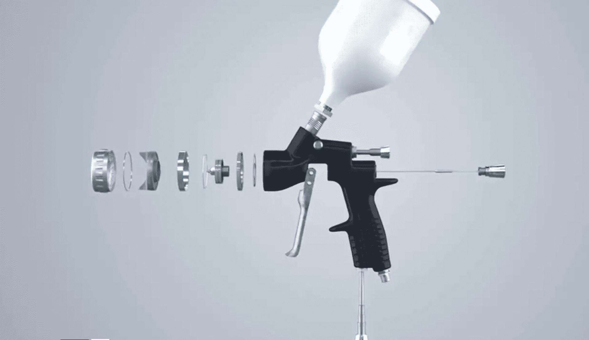 DeVILBISS 3D model deconstruction video