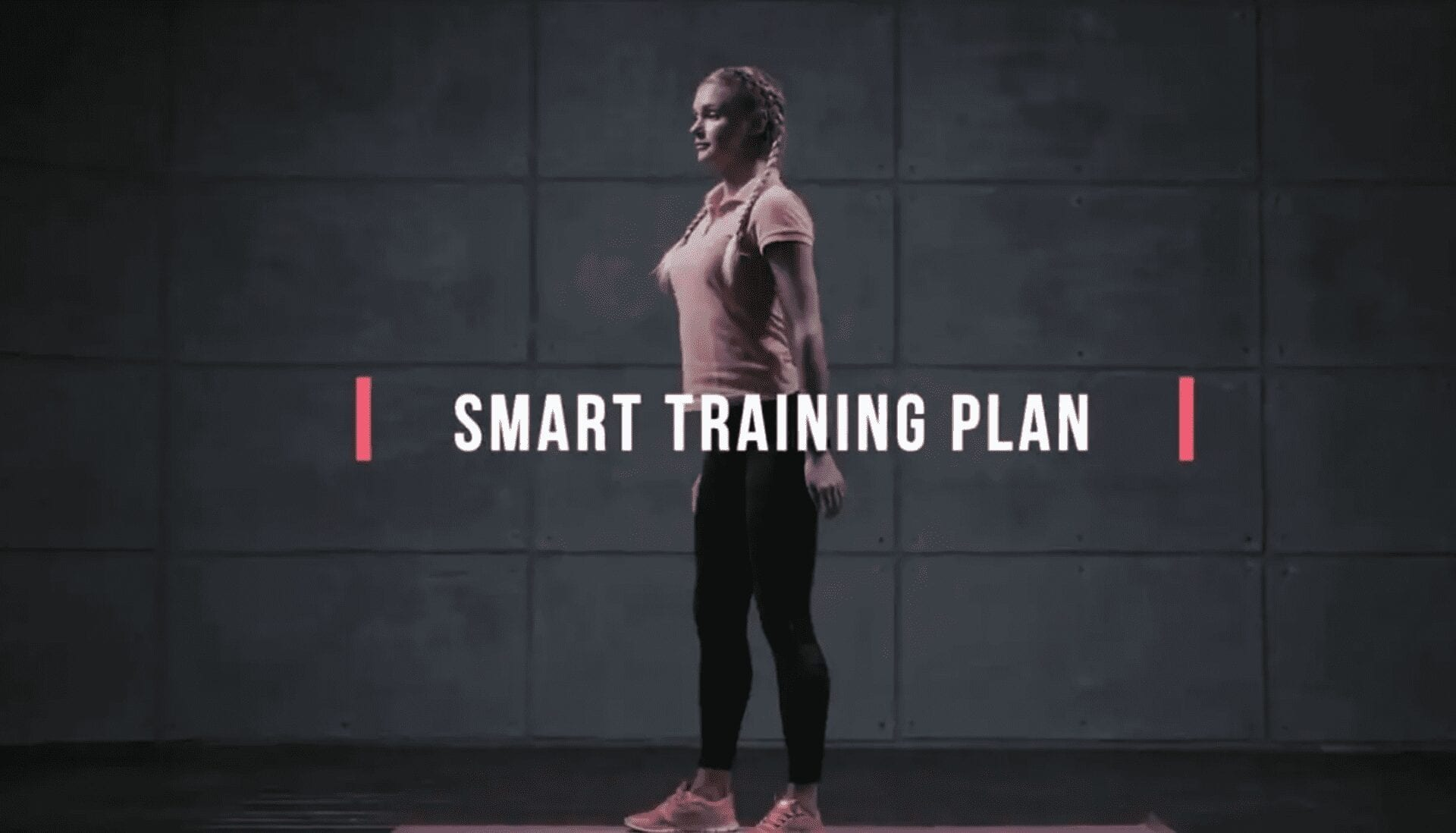 Fitness app UA video