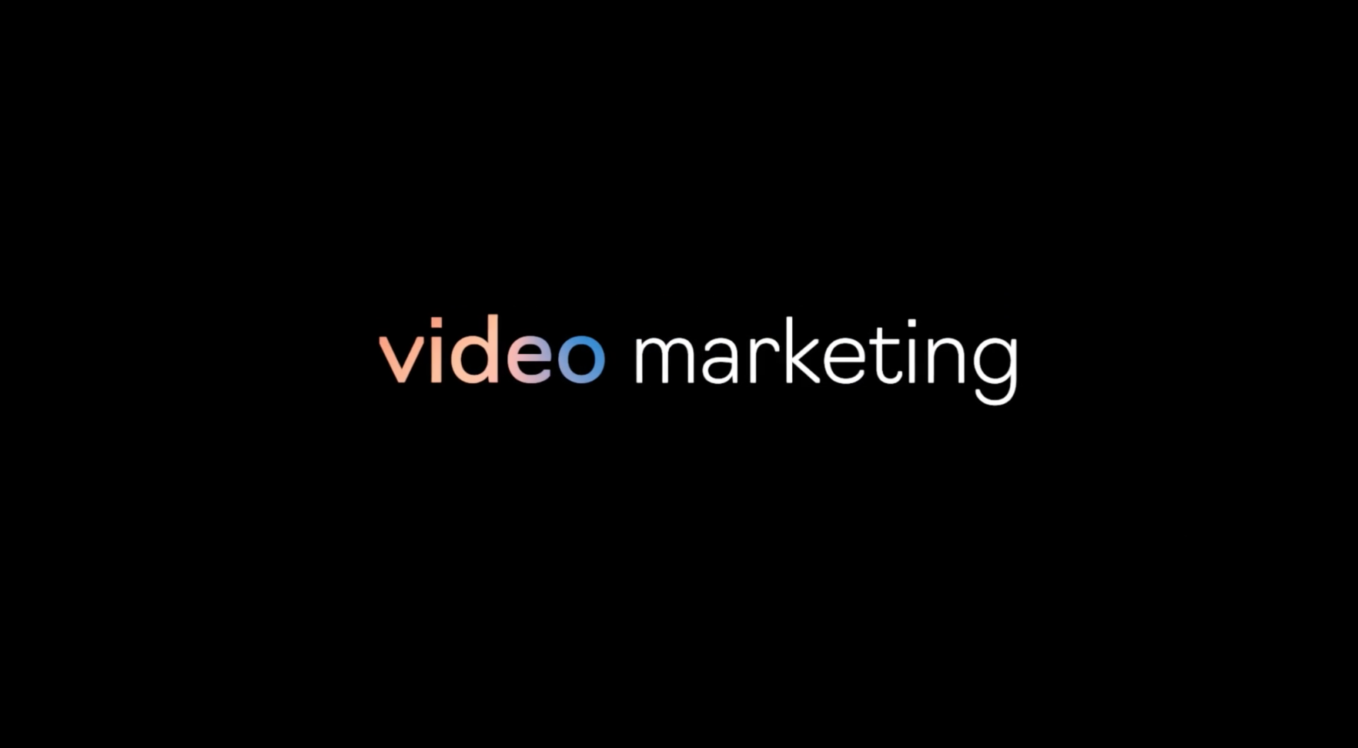 Video Marketing for Startups, tech and mobile companies