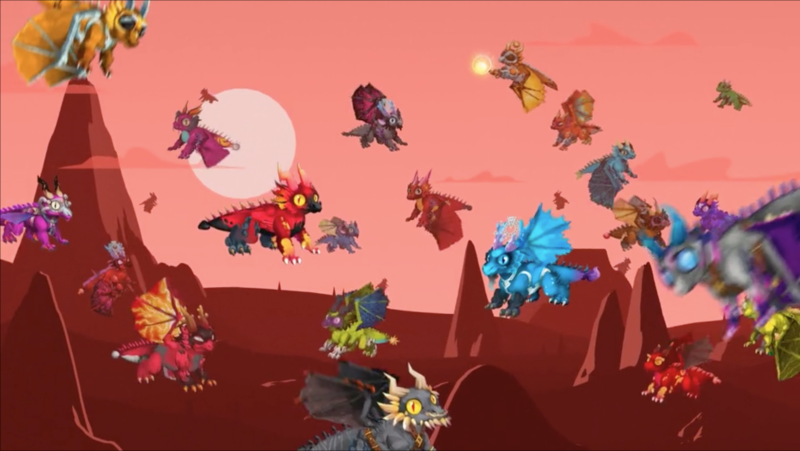 Dragonereum promo animation