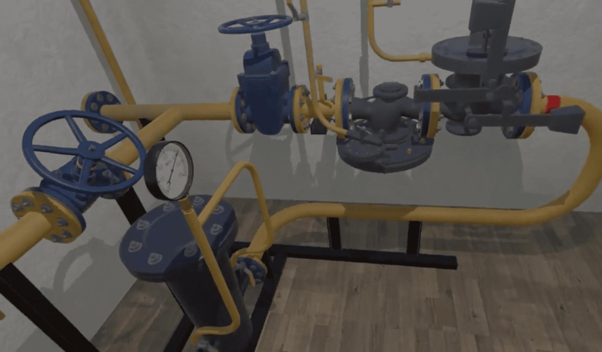 Gas Control Point Training Simulator