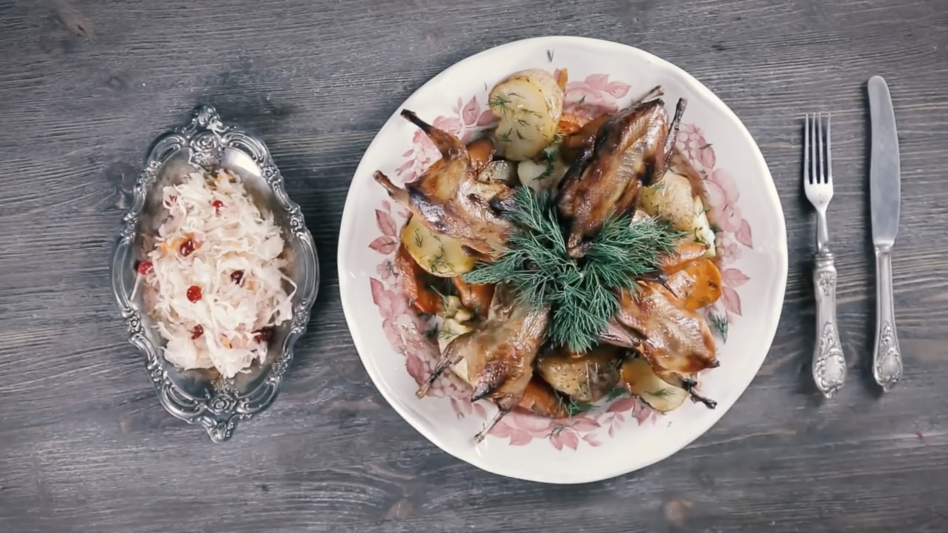 100 years of Russian cuisine