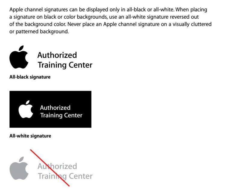 authorized training centr