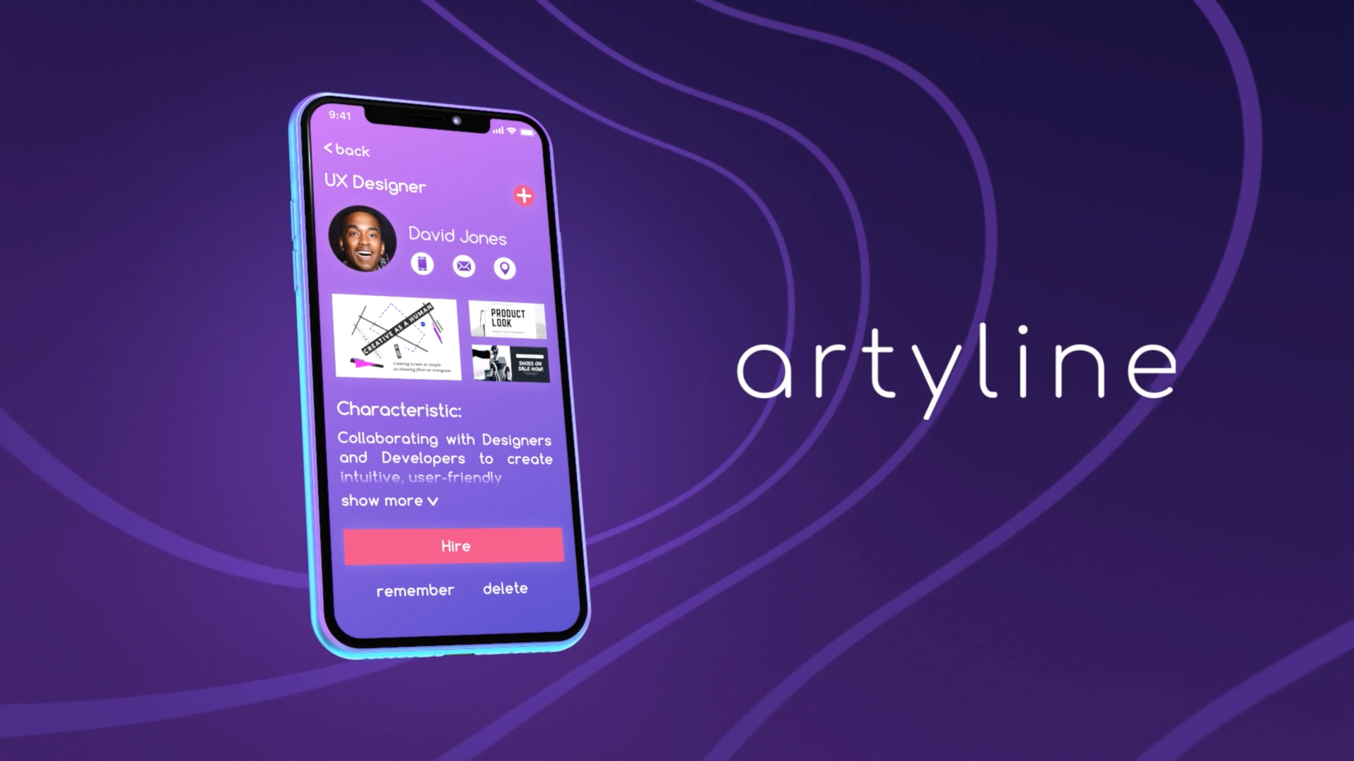 Artyline product video
