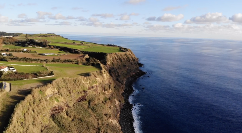 Drone aero videos from Azores and Portugal