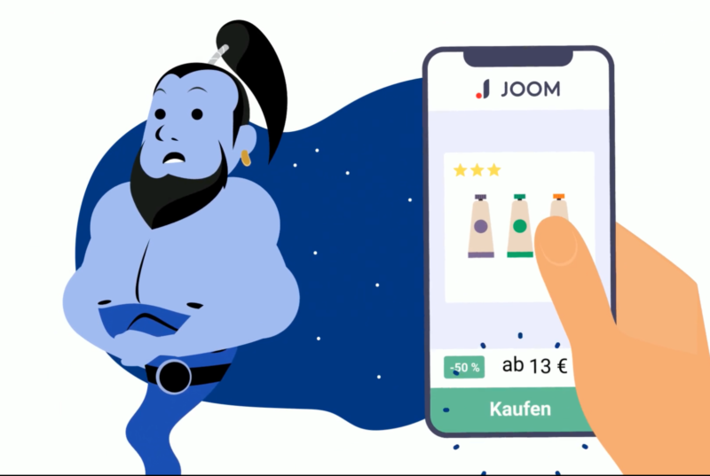 Animated Video Ads for JOOM
