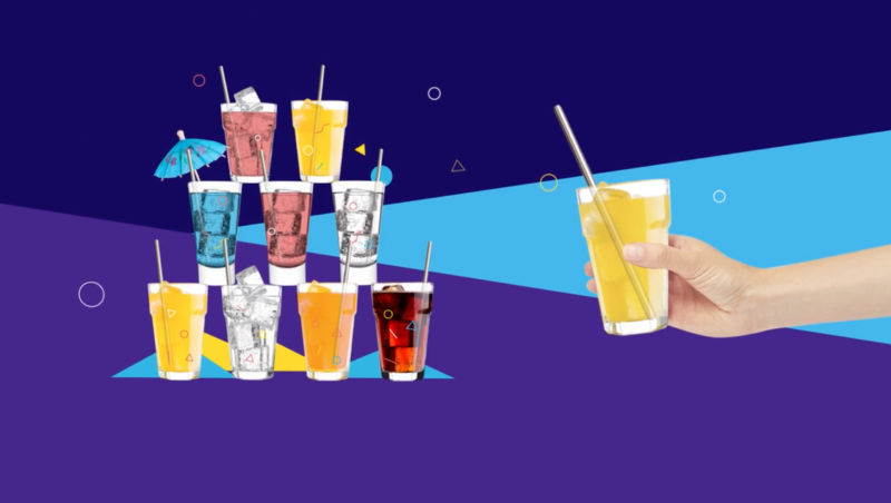 Kickstarter Video for Drink Clean Straw