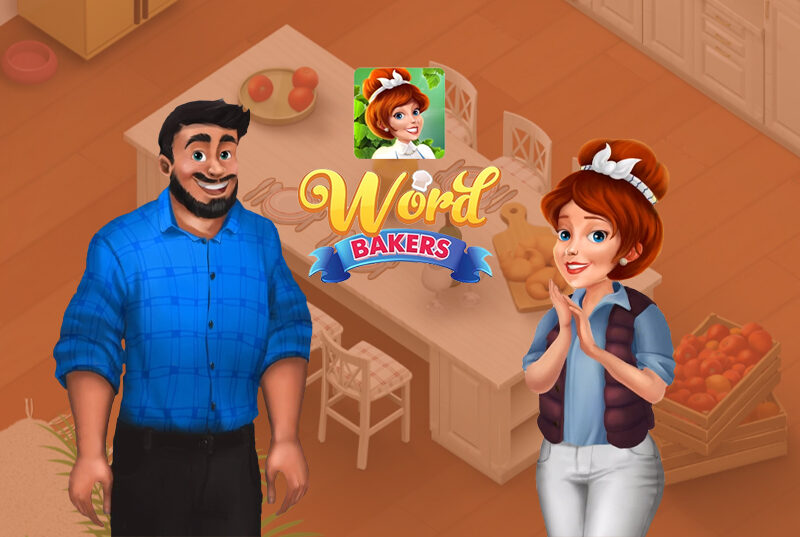 Video Ads for WordBakers Mobile Game