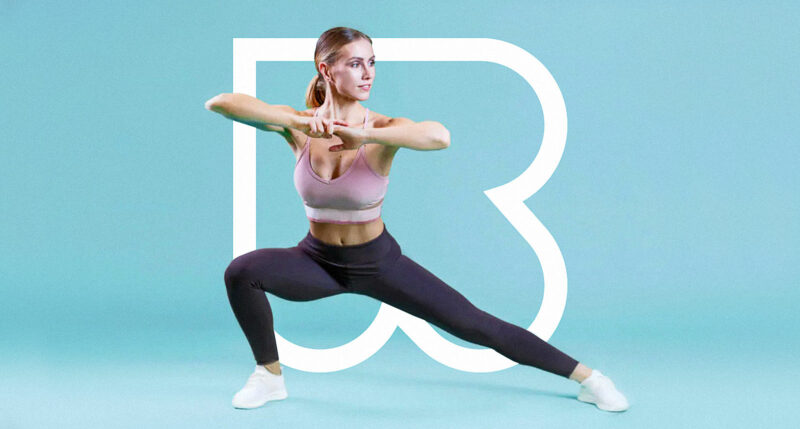 Mobile fitness app and video exercises Reshape
