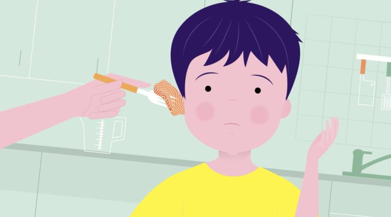 Animated promo video for medicine DETRIFEROL