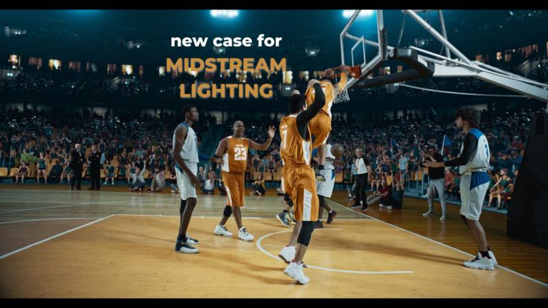 3D promo video for Midstream Lighting